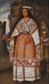 12 – (1533) Cajamarca - El Inca Atahualpa, entregó en matrimonio a mi cuñado Francisco (Pizarro) a su hermana Quispe Sisa, es muy joven, no debe tener mas de 16 o 18 años, es hermosa y alegre. Francisco está muy complacido. La hemos bautizado con el nombre cristiano de Inés Huaylas Yupanqui. (Creo que en honor mío, ahora somos dos las Inés).