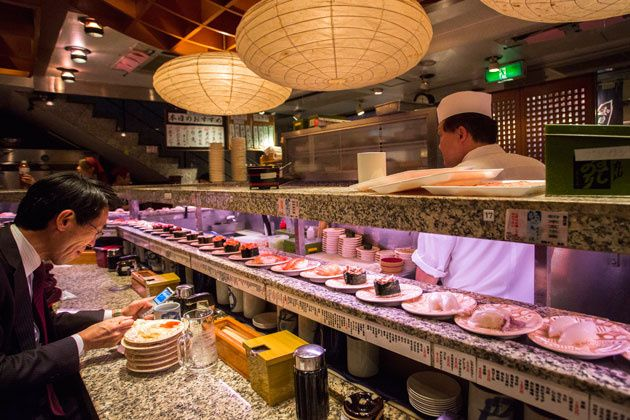 08 - Las máquinas también hacen sushi
